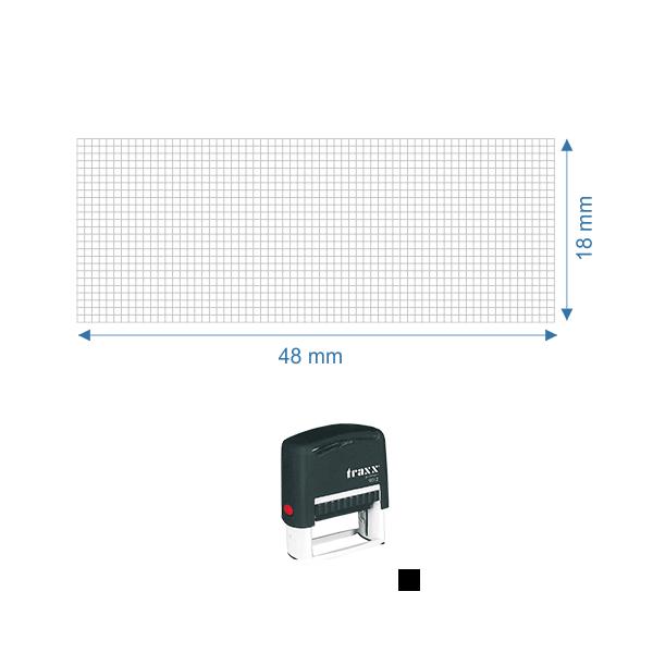 Self Inking Stamp Printer Tra 9012