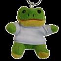 Plyšová kľúčenka-žaba