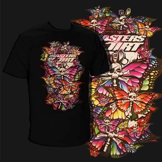 Pánske tričko s farebným motívom
