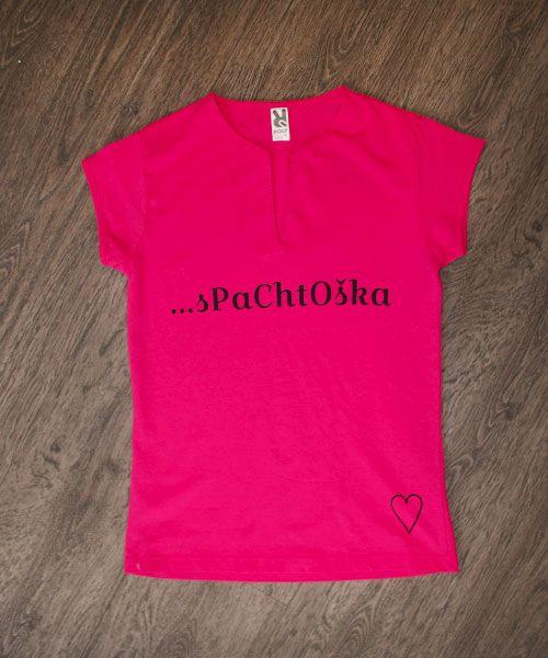 Dámske tričko s vlastnou originálnou potlačou
