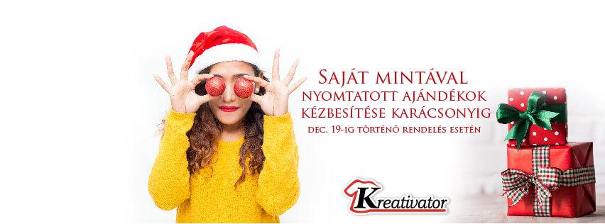 Karácsonyi ajándék rendelés Kreativator