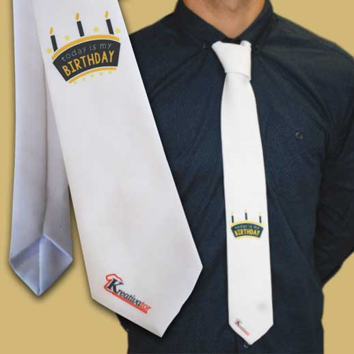 Potlac na kravatu-Kreativator.eu