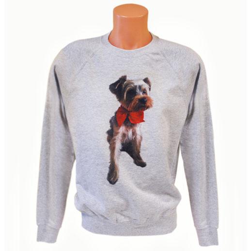 Kutya mintas pulover
