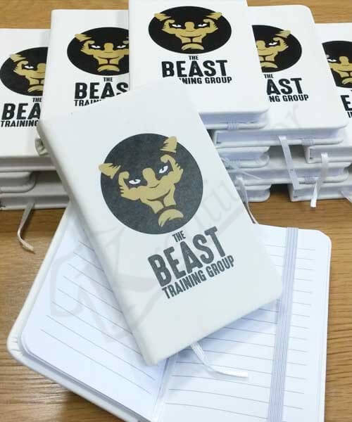 Notes s vlastnou potlačou Beast