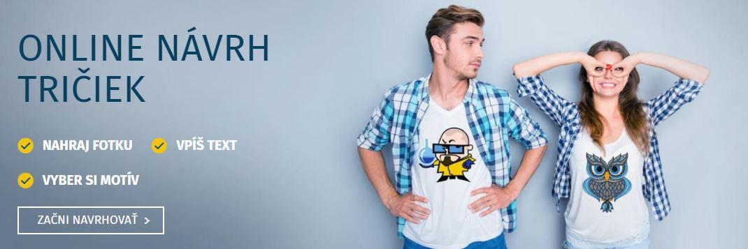 Obnovený Kreativator - navrhni si tričko s potlačou