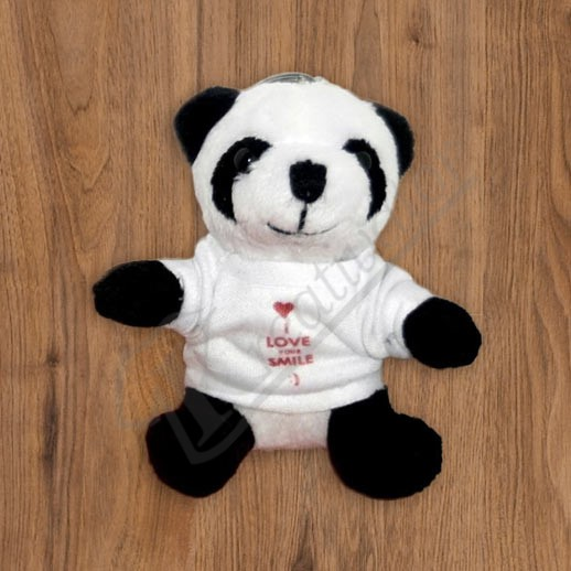 plysova panda s vlastnou potlacou