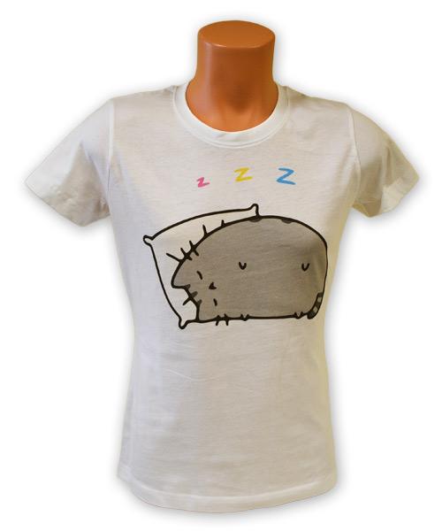 Tričko s mačacou potlačou