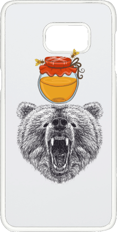 Bear Honey Personalised Samsung Galaxy S6 Phone Case