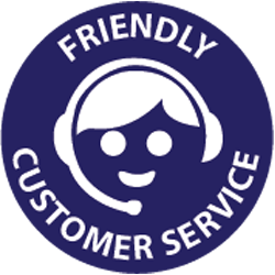 Friendly customer service